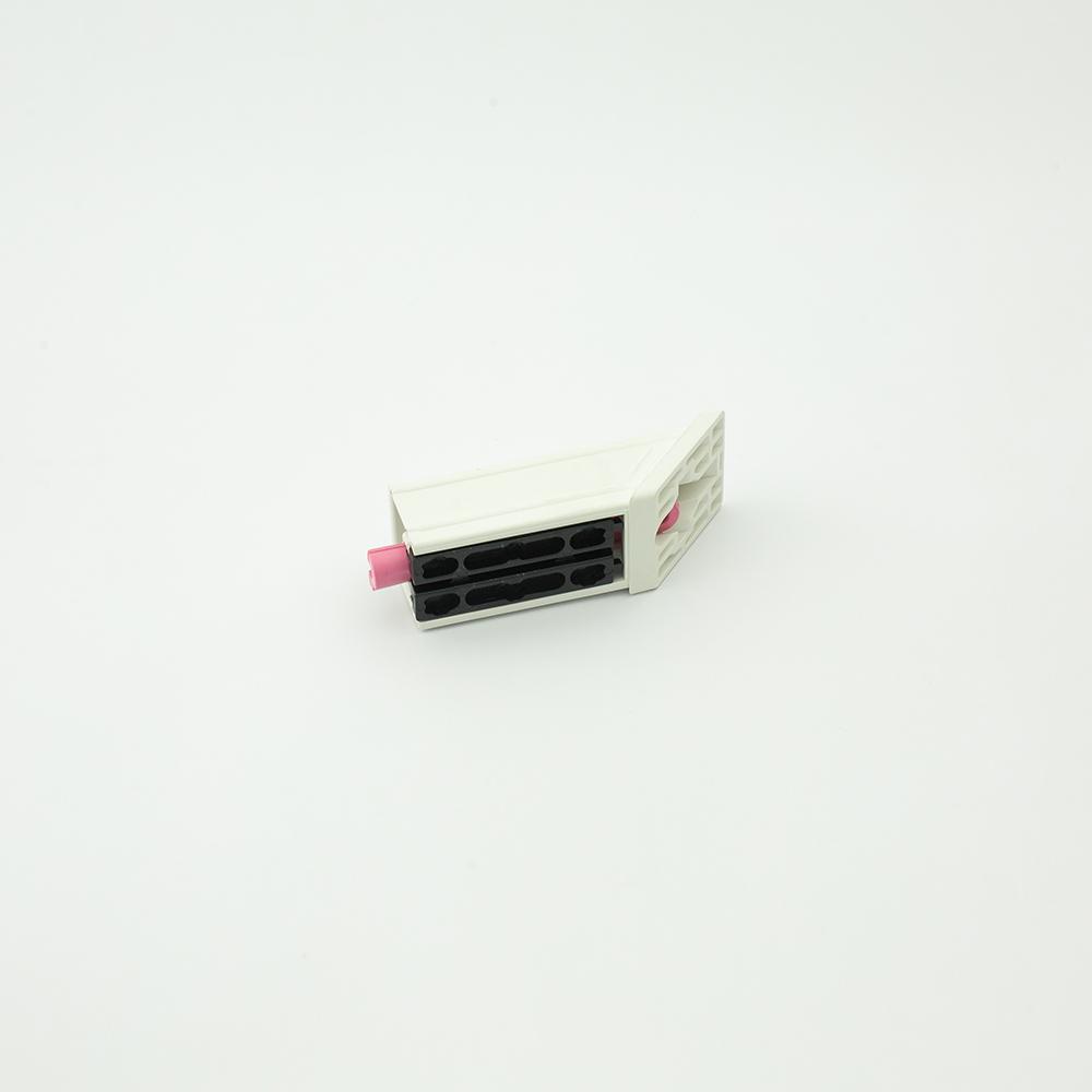 Weldable corner joint pvc 40x40x2mm